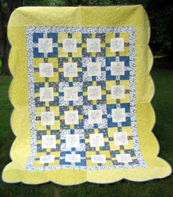 Blue-work--A Classically-inspired quilt
