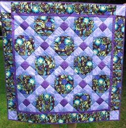 Celtic Knotwork Hugs and Kisses Quilt